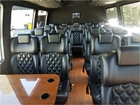 23-24 pass Black VIP Executive Coach Bus - x grn