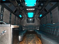 26 pass Black Limo Party Bus - x2