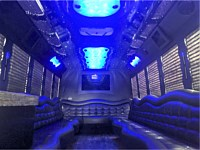 26 pass Black Limo Party Bus - x3