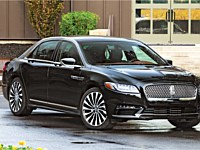 New Black Lincoln Continental (2-4 Passengers) - x3